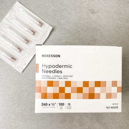 Comedones Sterile Needles 26g